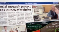 Our launch of the website was picked up by Dorchester's local paper, the View From and also appeared on WessexFM.