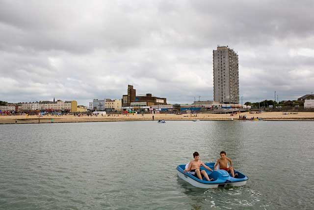 Margate pedalo by Peter Dench