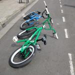 2 bikes by Margaret Stevens