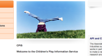 The Children's Play Information Service (CPIS) is a national information service on children's play, part of NCB's Information Centre. Our extensive reference library covers most aspects […]