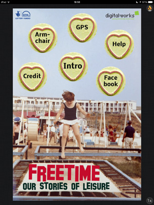 Front cover for the FreeTime app