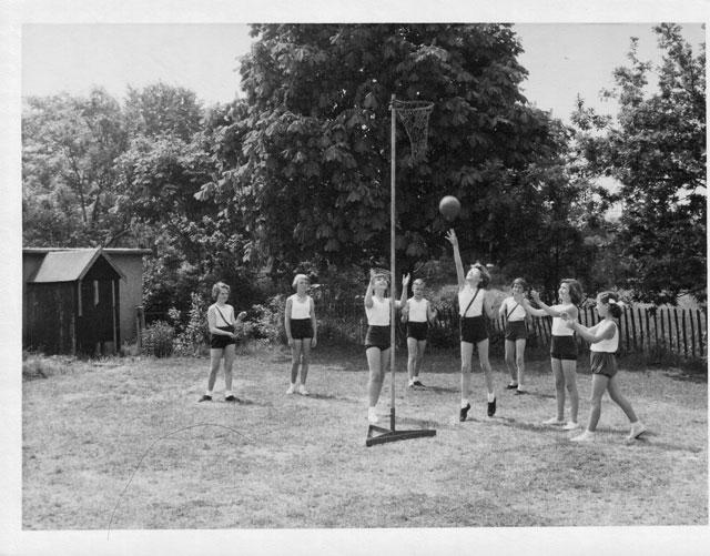 Netball Game 1960