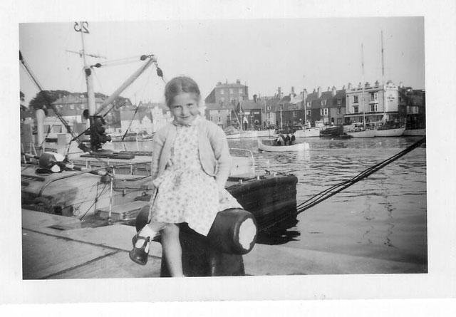 Liz Visits Weymouth c1956